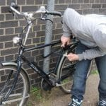 Sebeș - Bărbat prins de poliție chiar pe bicicleta pe care acesta tocmai o furase