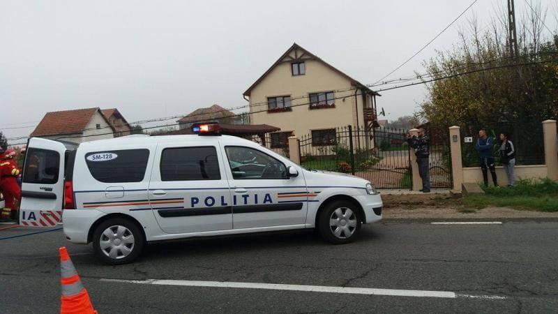 Valea Lungă – Un șofer beat a acroșat mașina unui echipaj de poliție și a fugit. A fost prins după o urmărire trei kilometri
