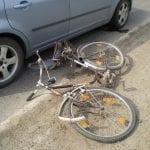 Blaj - Un septuagenar este cercetat penal după ce a lovit cu mașina un biciclist beat