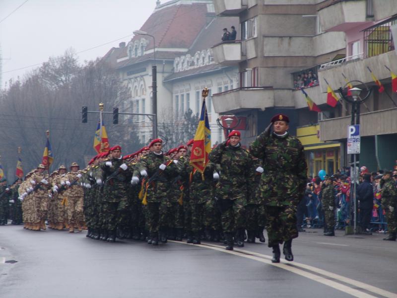 Ceremonie militară de amploare la Alba Iulia de 1 Decembrie