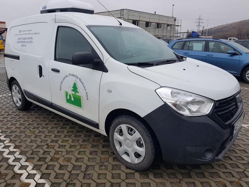 APM Alba, dotată cu o unitate mobilă pentru monitorizarea calității aerului