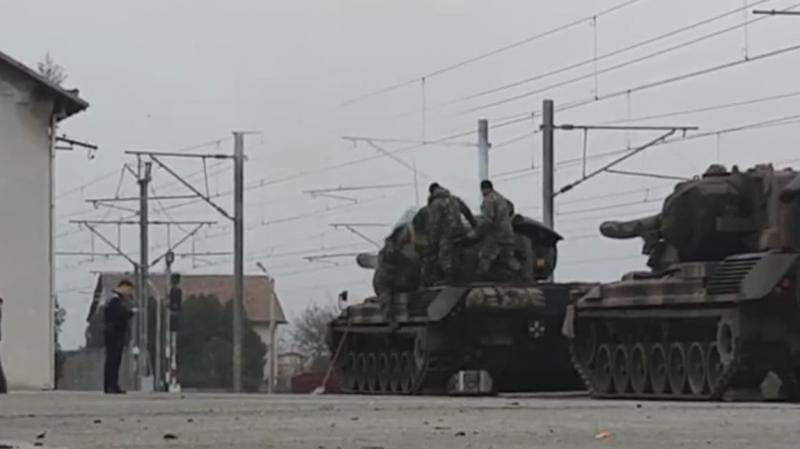 Alba Iulia – Un militar și-a pierdut viața în timpul descărcării tancurilor ce vor participa la ceremonia militară de 1 Decembrie