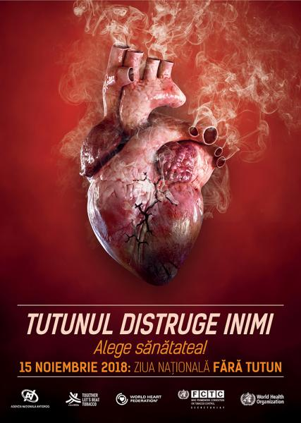 Alba – Campanie de informare în instituțiile de învățământ din județ cu ocazia Zilei Naţionale fără Tutun