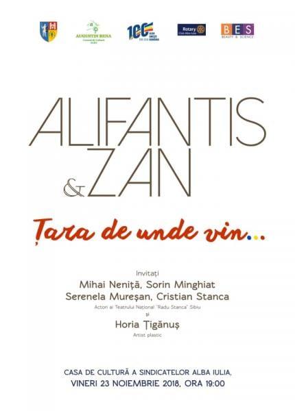 Concert Nicu Alifantis la Casa de Cultură a Sindicatelor din Alba Iulia