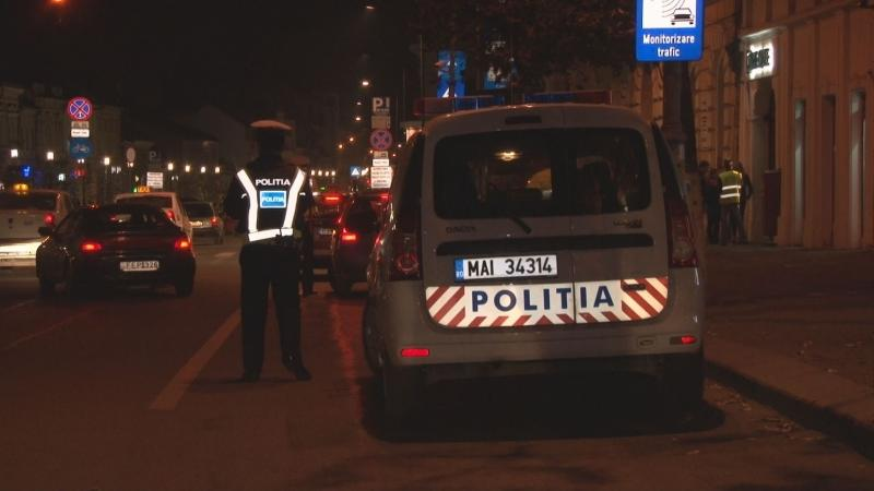 Abrud – Șoferiță prinsă cu o mașină cu numere de Finlanda, radiată din circulație