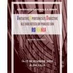 Reuniune științifică a bibliotecarilor din România, la Alba Iulia