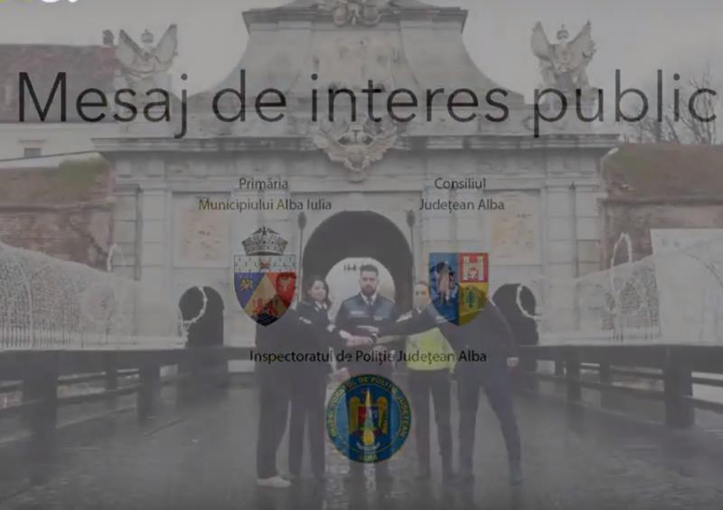 Recomandările IPJ Alba pentru participanții la manifestările Centenarului de la Alba Iulia
