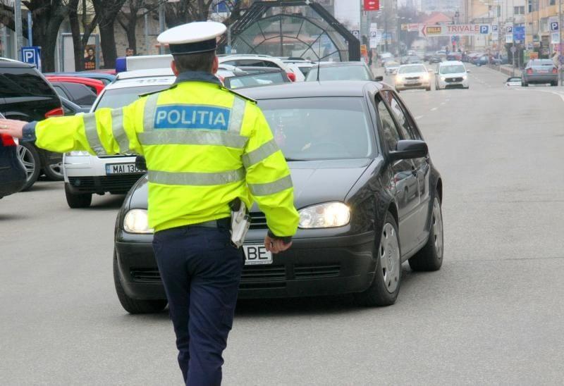 Vinerea – Dosar penal pentru un bărbat din Șibot prins fără permis de conducere