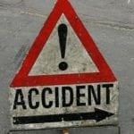 Alba Iulia - Accident cu doi răniți pe strada A.I. Cuza