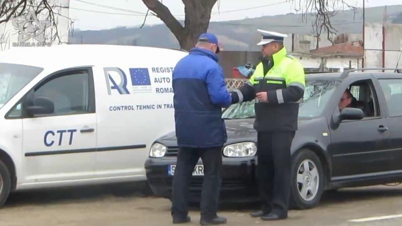 Teiuș – Acțiune comună a Poliției Rutiere Alba și a RAR Alba. Amenzi de peste 8000 de lei