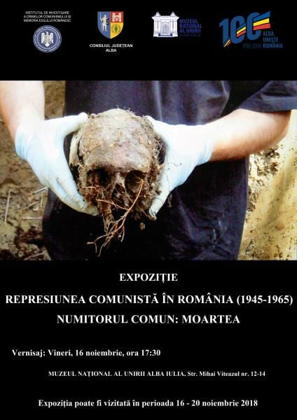 Alba Iulia – Expoziție în memoria victimelor comunismului, la Muzeul Unirii