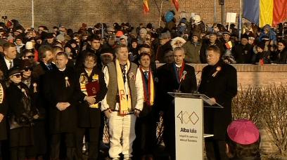 Președintele Klaus Iohannis, prezent la manifestările de la Alba Iulia