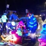 Accident cu o victimă încarcerată în Alba Iulia (foto și video)