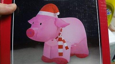 De sărbători, politicienii vor împărți porci gonflabili din care se pot face cârnați cu aer