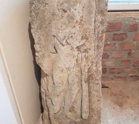 Alba Iulia - Sculptură antică, recuperată de polițiștii IPJ Alba (foto)