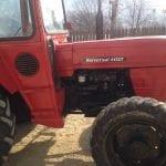 Jidvei - Minor depistat fără permis de conducere la volanul unui tractor