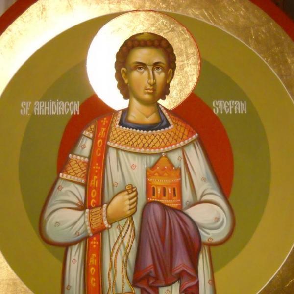 Creștinii ortodocși îl sărbătoresc pe Sfântul Arhidiacon Ștefan