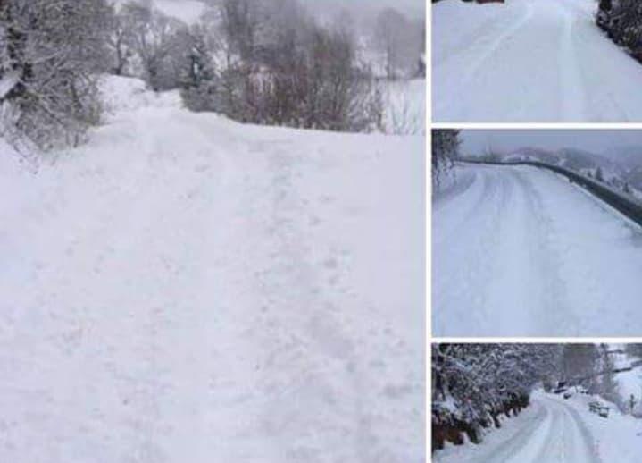 Scărișoara – Localnicii se plâng că au rămas izolați după căderile de zăpadă din weekendul trecut