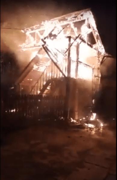 Bucerdea Vinoasă – Pagube de 30.000 de lei în urma unui incendiu la o gospodărie