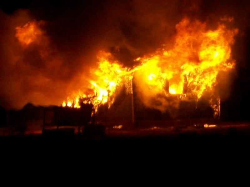 O casă din Cetea, incendiată de două ori în mai puțin de o săptămână