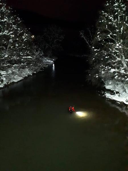 Sohodol – Operațiune de căutare a unei persoane care s-ar fi aruncat în râul Arieș (foto și video)