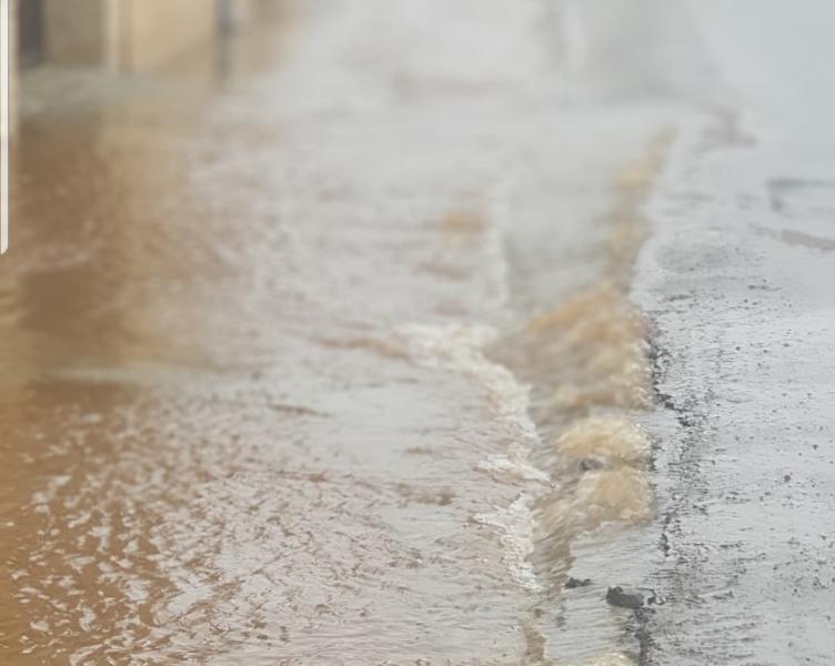 Sebeș – Avarie la o conductă de apă de pe strada Decebal UPDATE