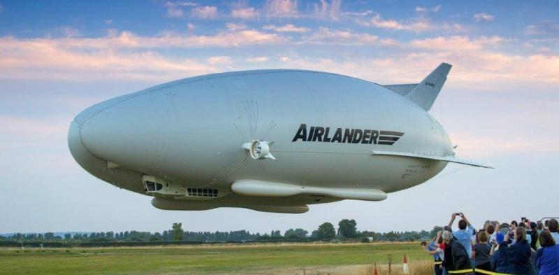 Vezi cum arată cea mai mare aeronavă din lume