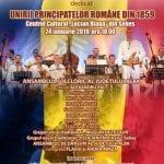 Sebeș - Spectacol folcloric extraordinar dedicat Unirii Principatelor Române