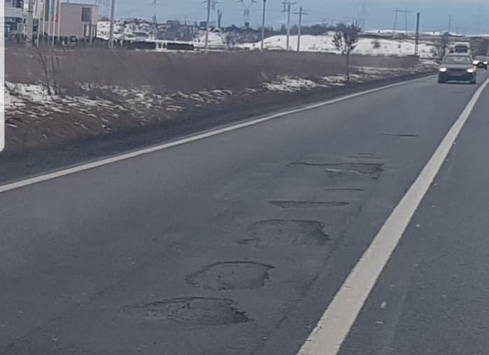 Drumul dintre Alba Iulia și Sebeș, un exemplu de nepăsare al autorităților