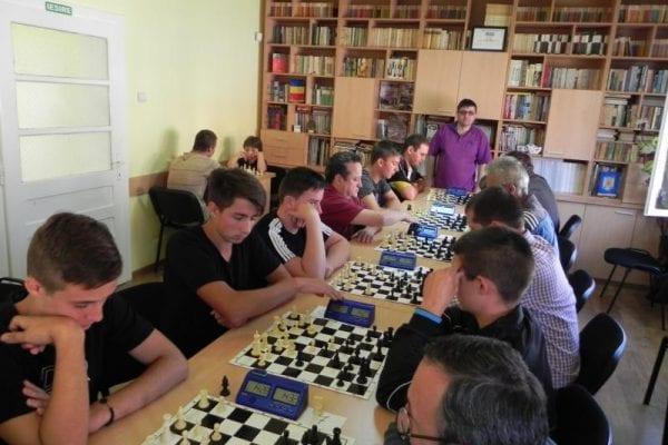 Număr record de participanți la turneul ''Regele Șahului'' de la Ocna Mureș