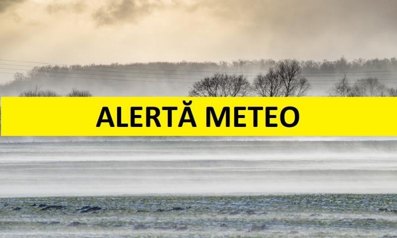 COD GALBEN de vreme severă imediată în județele Alba, Sibiu și Mureș