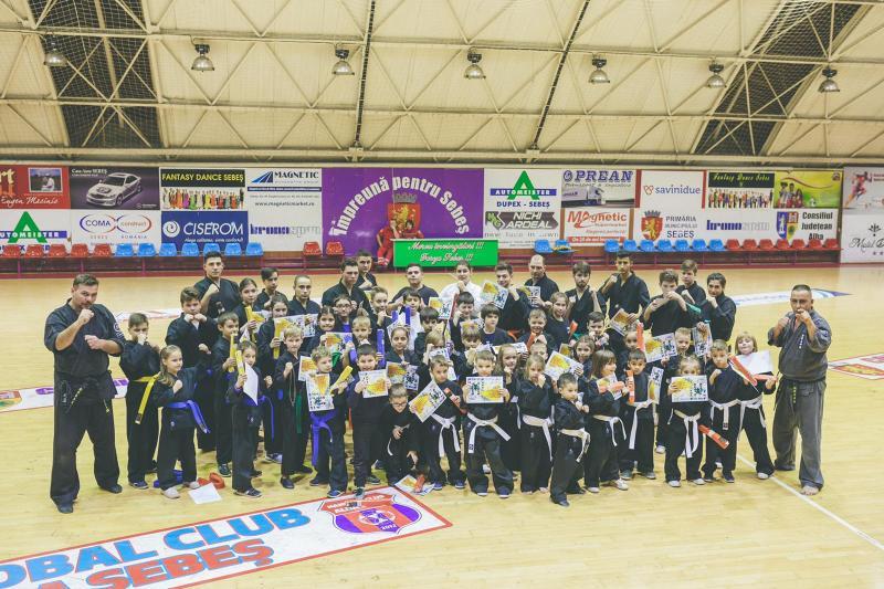 """Clubul Sportiv """"Shinkami"""" Alba Iulia se mândrește cu primul elev care a primit centura neagră"""