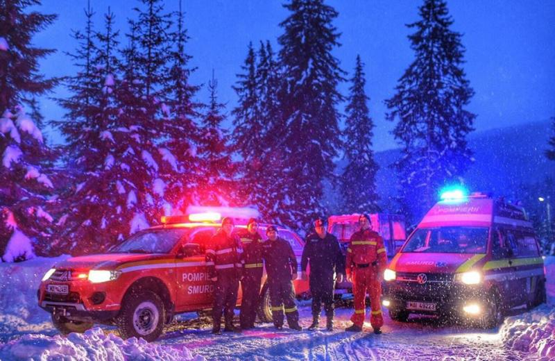 Șureanu – Doi turiști răniți pe pârtiile Domeniului Schiabil