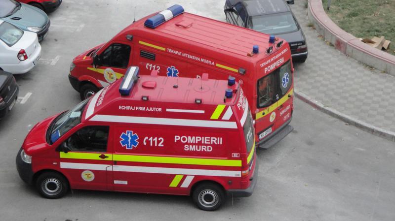 Alba Iulia – Un muncitor a căzut de pe acoperișul clădirii FLIPS