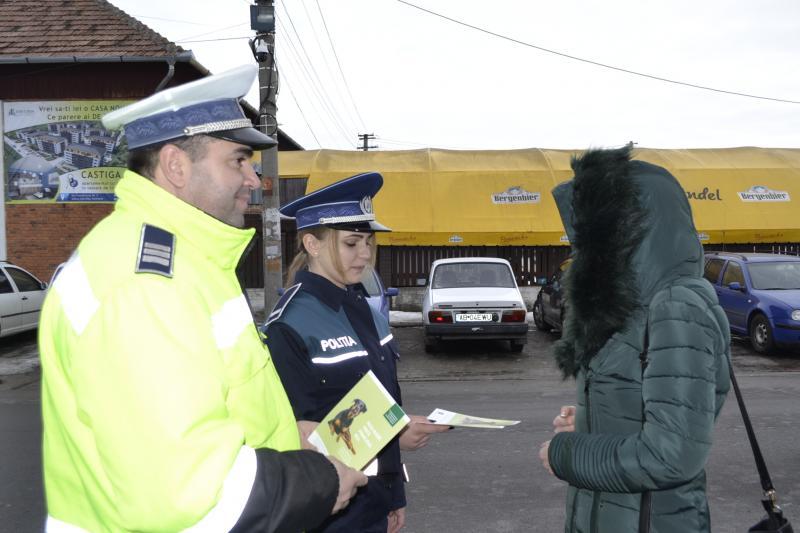 Sebeș – Campanie de informare privind modalitățile de prevenire a furturilor din locuințe
