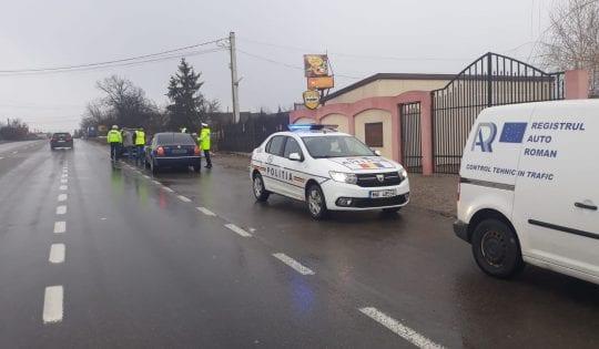 Peste 10000 de autovehicule verificate și peste 5700 de sancțiuni acordate în urma unei acțiuni la nivel național a Poliției Române și R.A.R.