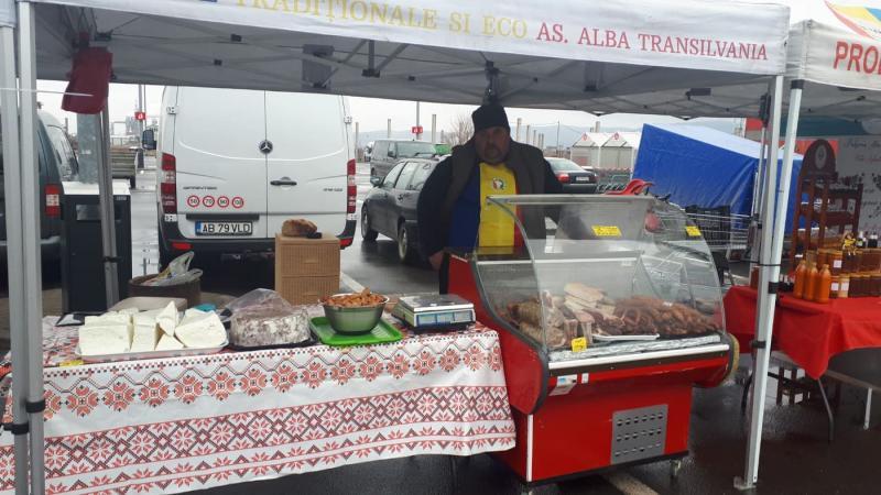 Târg de produse tradiționale  la Sebeș