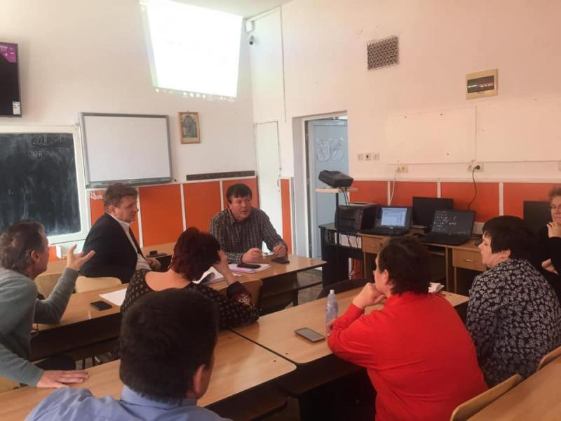 """Sebeș – Dezbatere publică a proiectului de reabilitare și eficientizare a instalațiilor electrice la școala """"Mihail Kogălniceanu"""""""