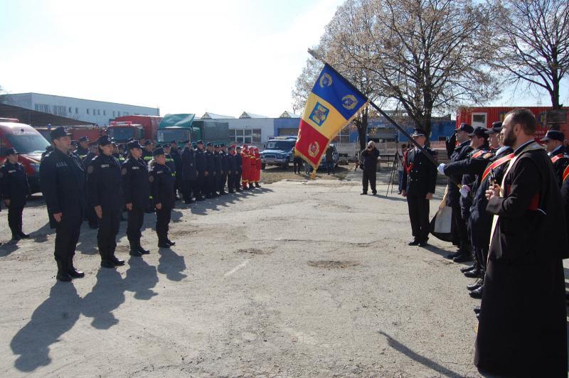 Cu ocazia Zilei Protecției Civile, avansări în grad la ISU Alba