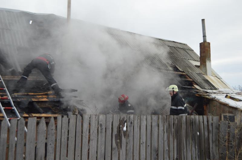 Micești – Intervenție a pompierilor pentru stingerea unui incendiu la hornul unei locuințe