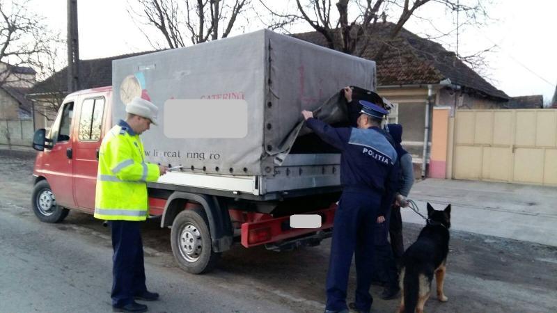 Amenzi de peste 20000 de lei în urma unei acțiuni a Poliţiei Ocna Mureş