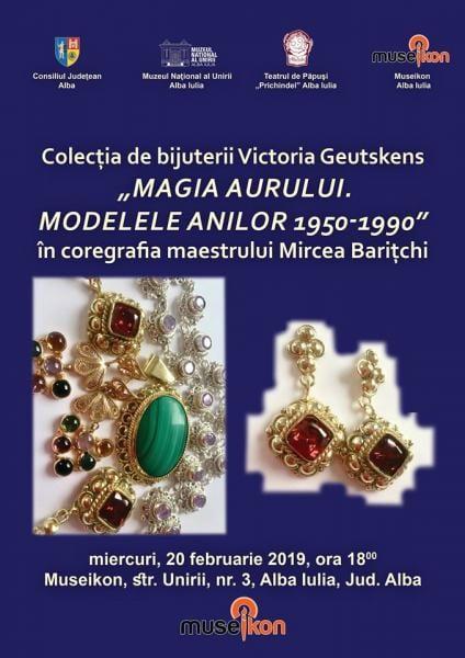 Alba Iulia – Expoziție de bijuterii la Museikon