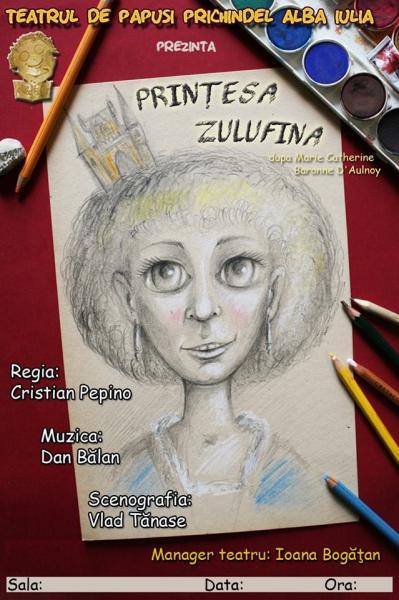 """Alba Iulia – Teatrului de Păpuși """"Prichindel"""" prezintă spectacolul """"Prințesa Zulufina"""""""