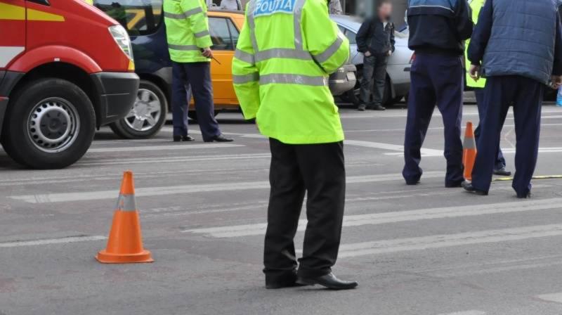 Alba Iulia – O bătrână a fost acroșată mortal de o mașină pe trecerea de pietoni