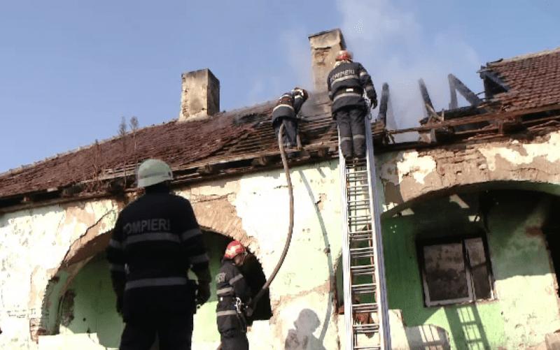 Vingard – Hornul unei case de copii a luat foc