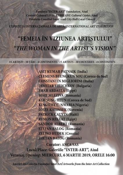 Aiud – Expoziție internațională de pictură dedicată femeii