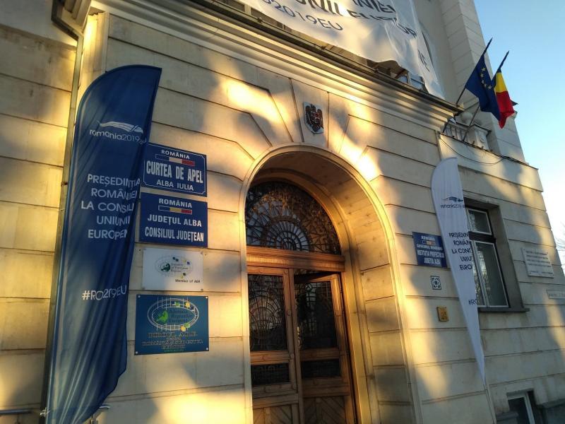 Raportul activității Curţii de Apel Alba Iulia şi a instanţelor din circumscripţia acesteia pentru anul 2018