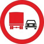 Depășirea neregulamentară, sancționată sever de Serviciul Rutier din cadrul IPJ Alba