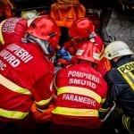 Aiud - Pompierii au fost solicitați să deblocheze ușa unei locuințe