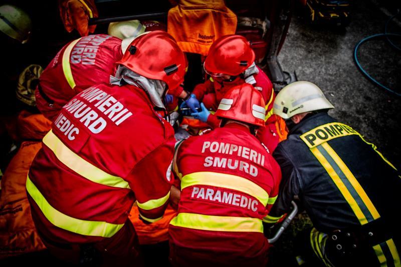 Aiud – Pompierii au fost solicitați să deblocheze ușa unei locuințe
